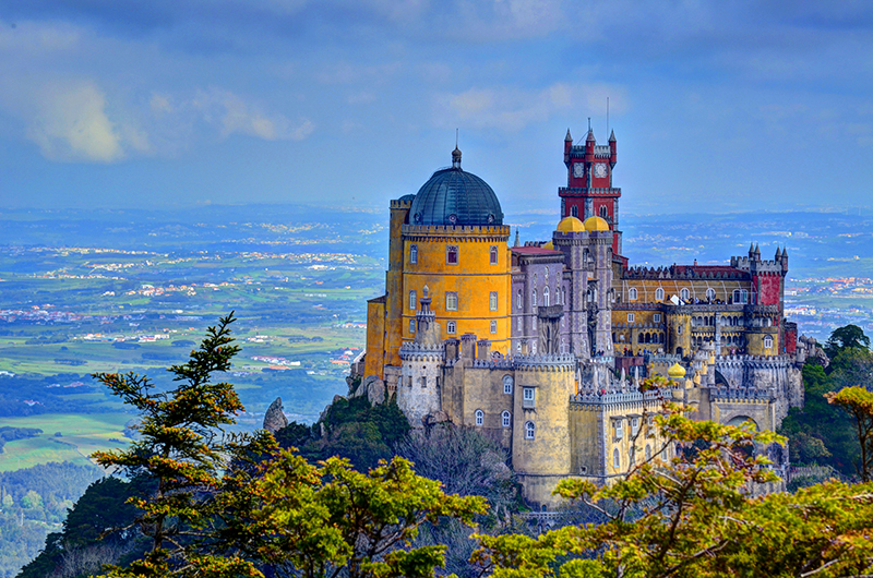 Pena Palace Most Beautiful Castle In Europe Sintra Private - Best castles in europe