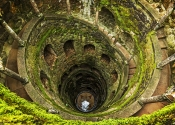 Initiation Well at Regaleira in Sintra
