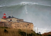 Nazare - The Biggest Ever Surfed Wave in the World